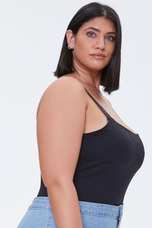 Plus Size Square-Neck Bodysuit, image 2