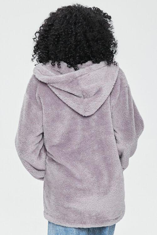 Half-Zip Teddy Pullover, image 3