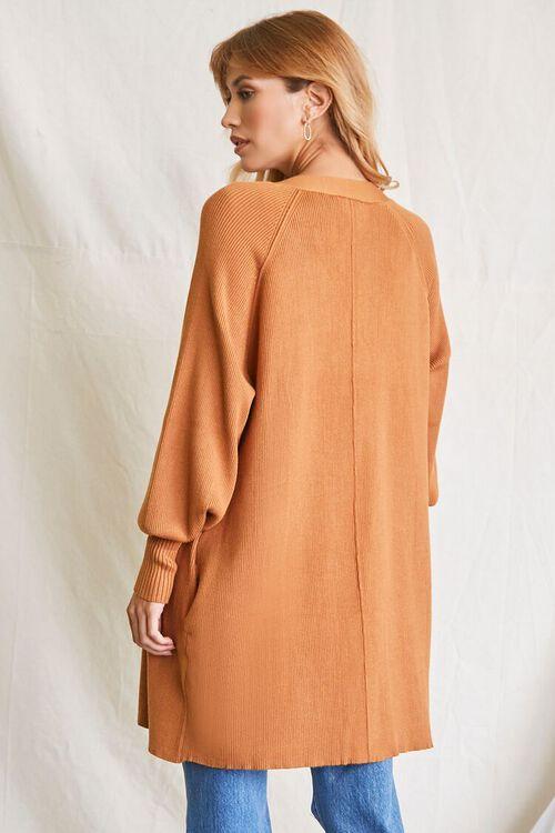 CAMEL Seamed Cardigan Sweater, image 3