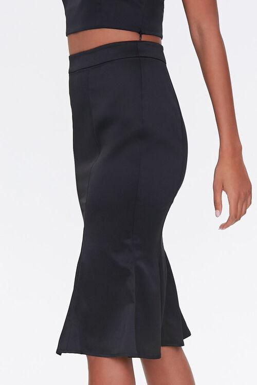 Fluted Knee-Length Skirt, image 3