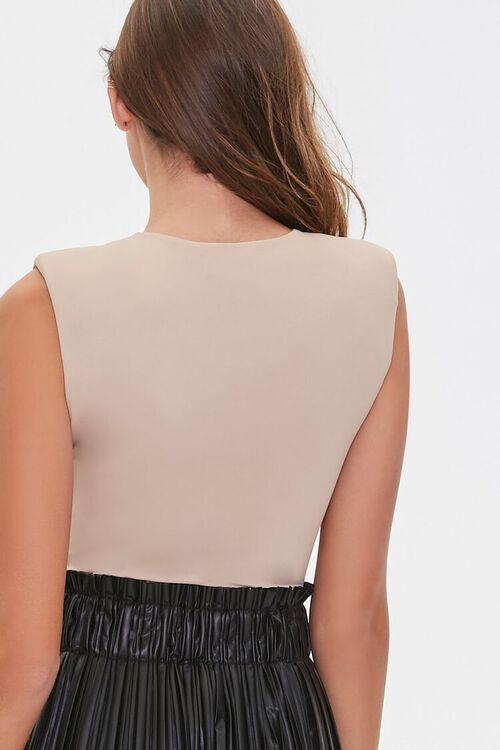 Sleeveless Knit Bodysuit, image 3
