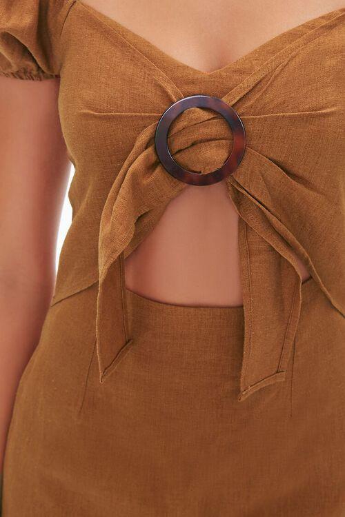 CHESTNUT Cutout Mini Dress, image 5
