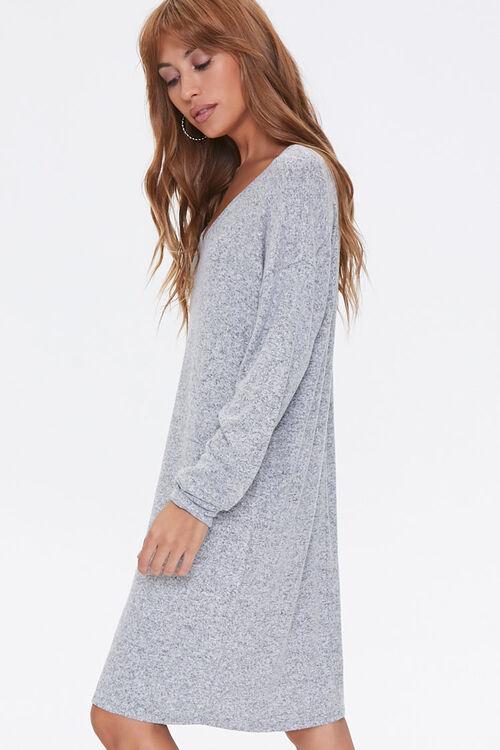 Marled Shift Mini Dress, image 2