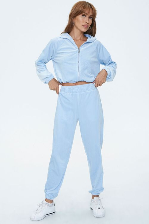 Velour High-Rise Joggers, image 5