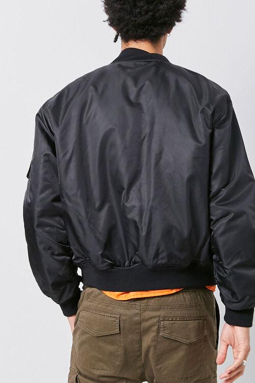 Dual-Zippered Bomber Jacket, image 3