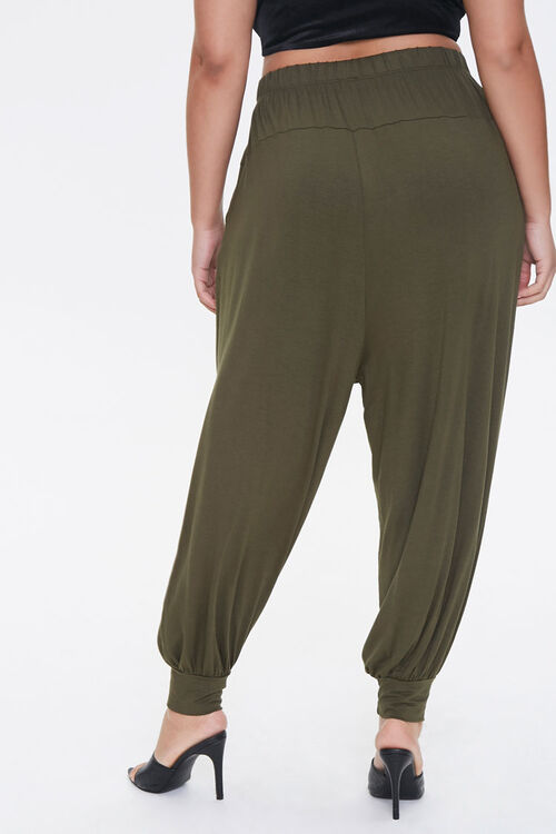 Plus Size Billowy Joggers, image 4