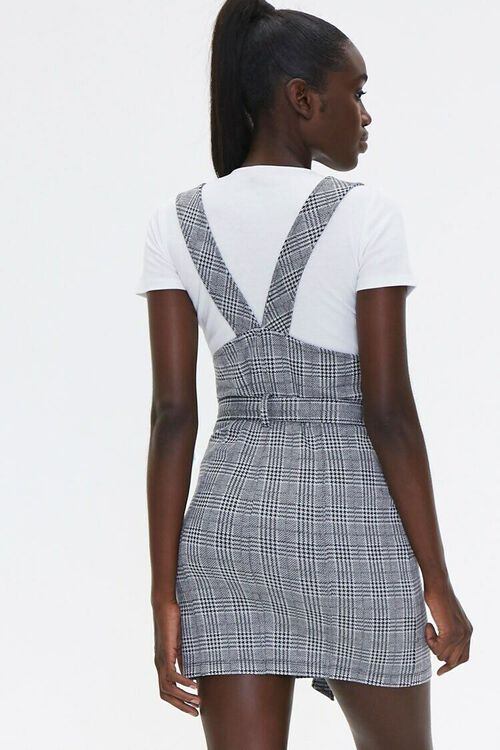 Plaid Pinafore Dress & Tee Set, image 3