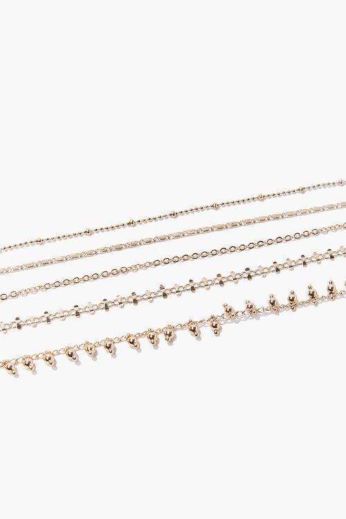 Assorted Chain Bracelet Set, image 3
