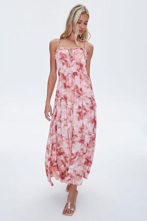 Tie-Dye Wash Maxi Dress, image 4