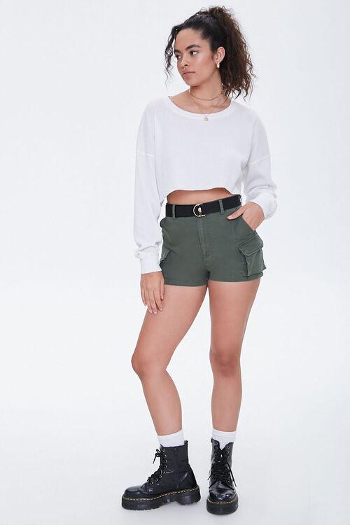 Twill Cargo Shorts, image 4