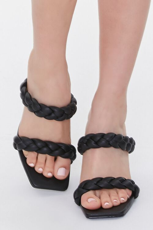 Braided Square-Toe Heels, image 4