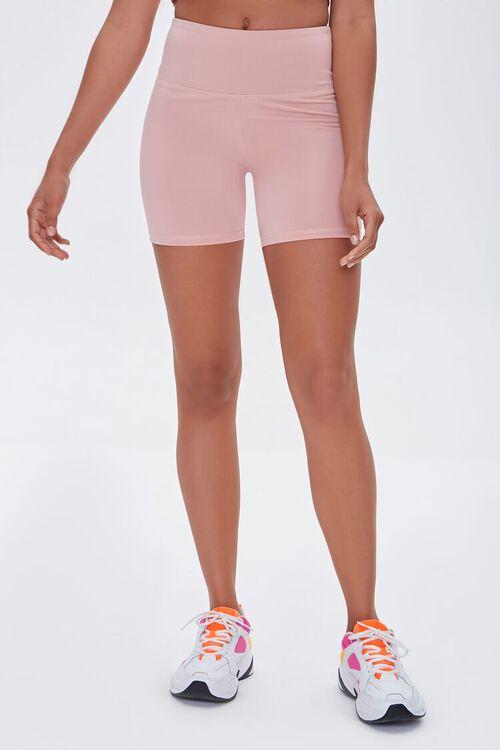 Active High-Rise Biker Shorts, image 2