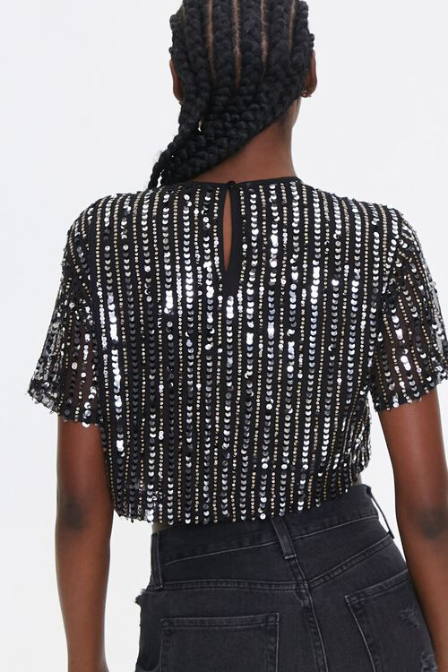 Sequin Cropped Tee, image 3