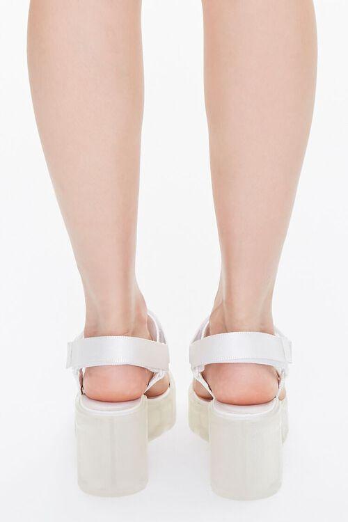 Semi-Transparent Platform Block Heels, image 3