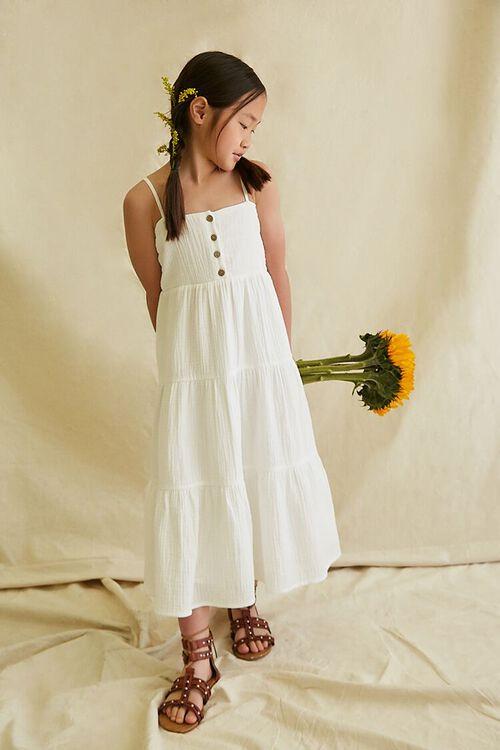 Girls Tiered Cami Dress (Kids), image 1