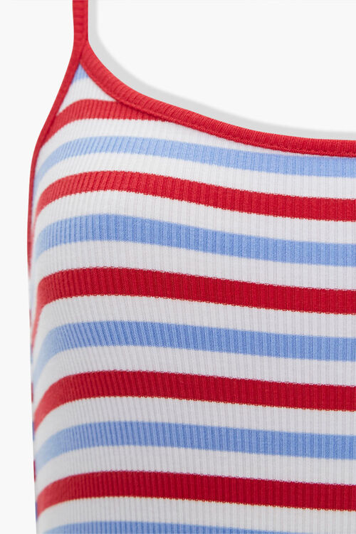 Striped Cami Bodysuit, image 4