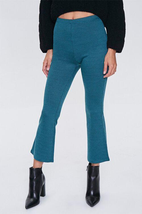 Grid Print Ankle Pants, image 2