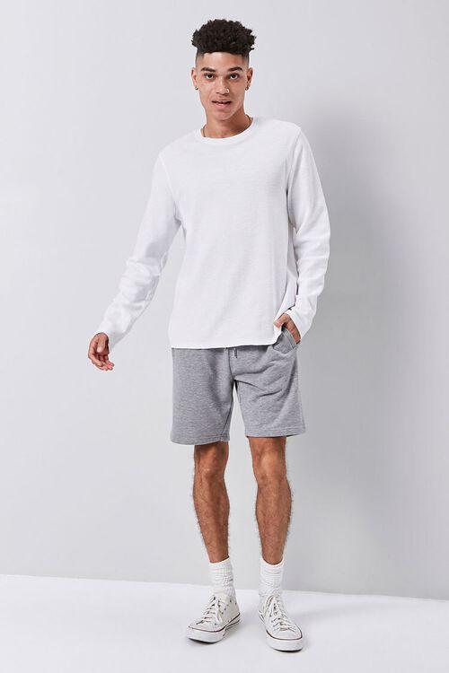 Heathered Drawstring Shorts, image 5