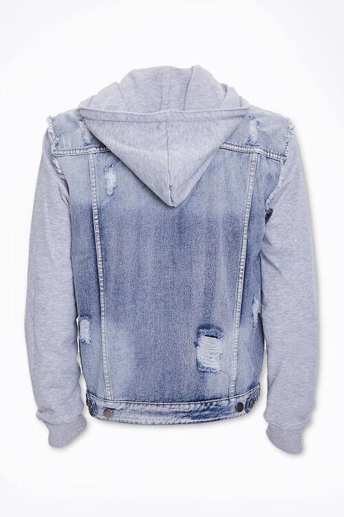 Distressed Denim Combo Jacket, image 3