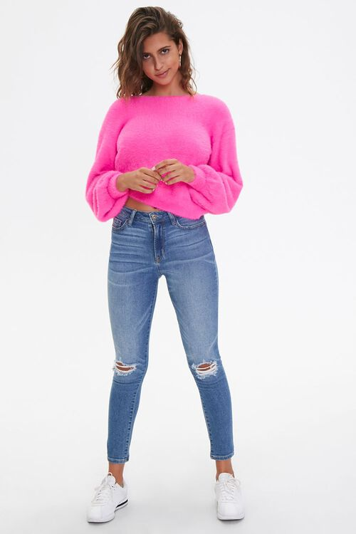 Plush Twist-Back Sweater, image 4