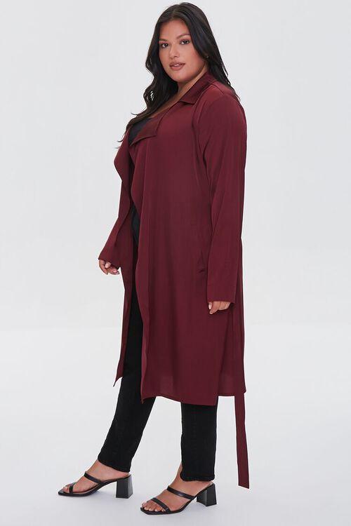 RED Plus Size Wrap Jacket, image 2