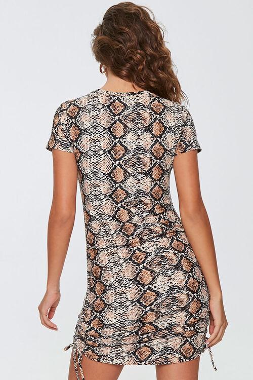 Snake Print Mini Dress, image 3
