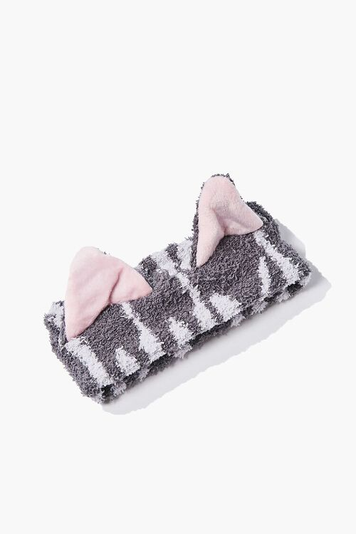 Striped Cat-Ear Headwrap, image 1