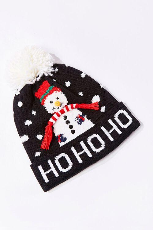 Ho Ho Ho Snowman Beanie, image 1