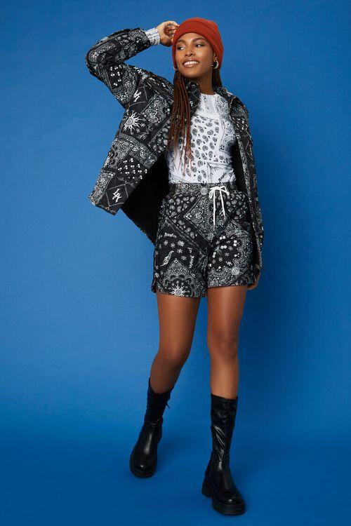 BLACK/WHITE Hot Wheels Paisley Jacket, image 5