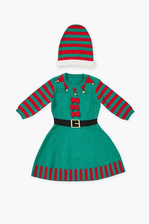 Girls Elf Sweater Dress (Kids), image 1