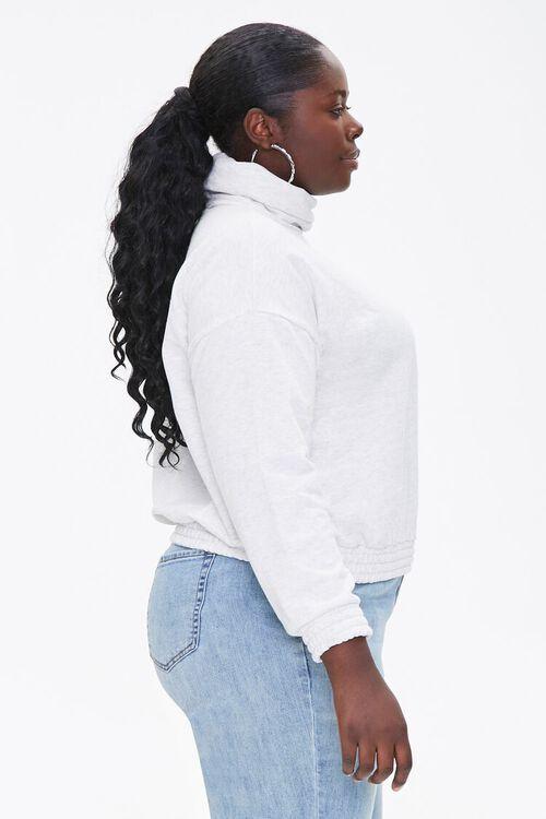 Plus Size Turtleneck Pullover, image 2