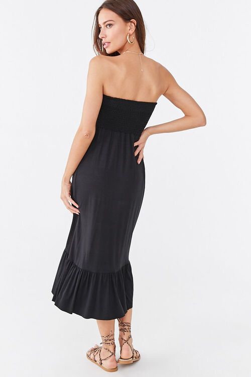 Ruffle-Trim High-Low Dress, image 3
