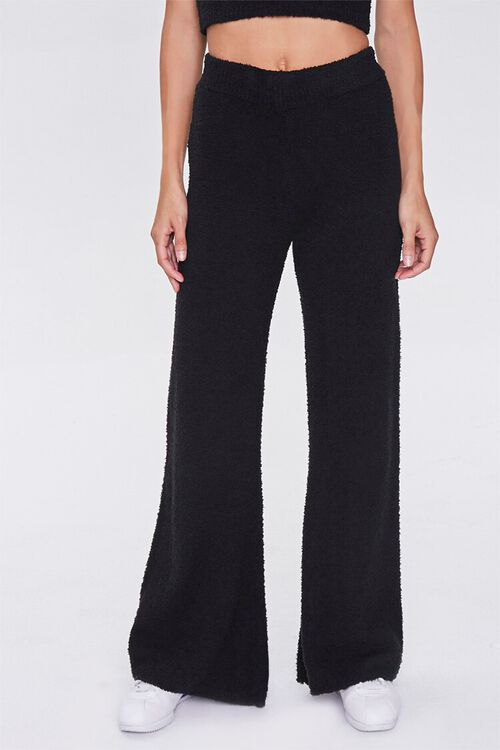 Fuzzy Flare Pajama Pants, image 2