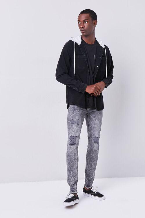 Premium Distressed Skinny Jeans, image 1
