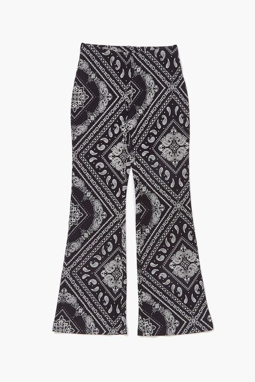 Girls Paisley Flare Pants (Kids), image 1