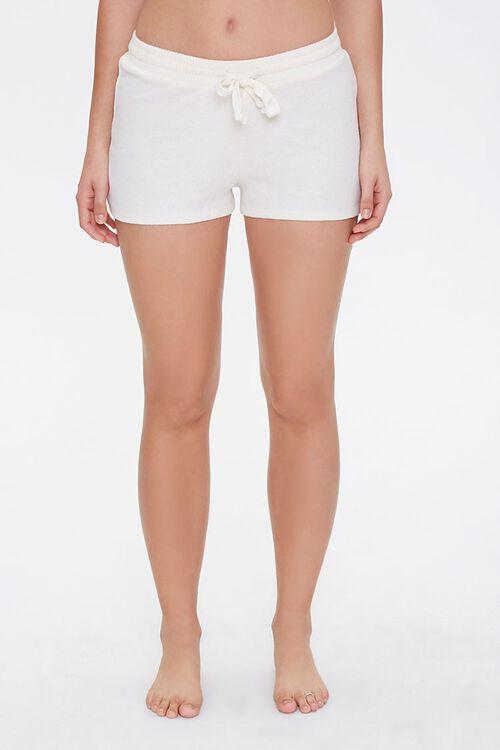 Drawstring Pajama Shorts, image 2