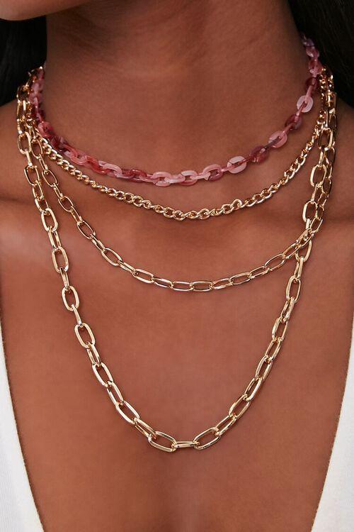 Chain Necklace Set, image 1