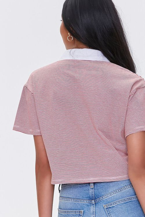 Striped Drop-Sleeve Rugby Shirt, image 3