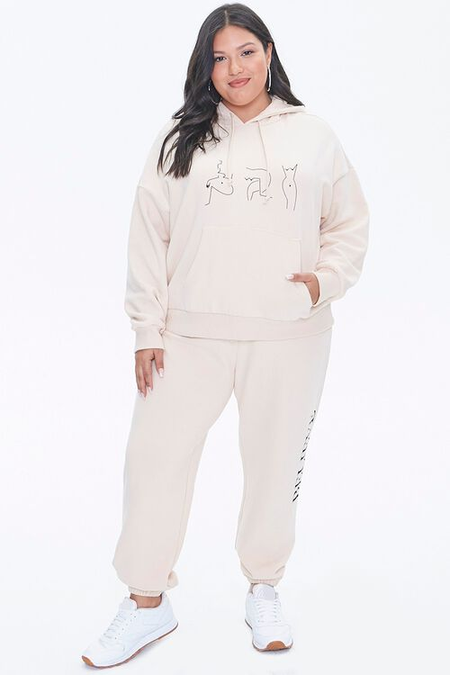 Plus Size Stand Up To Cancer Graphic Hoodie, image 4