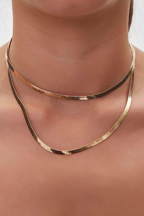 Omega Chain Necklace Set, image 1