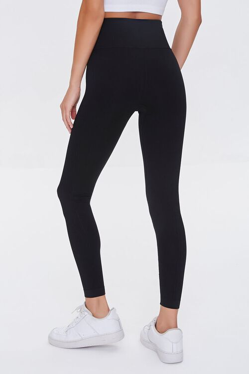 Active Seamless Ribbed High-Rise Leggings, image 4