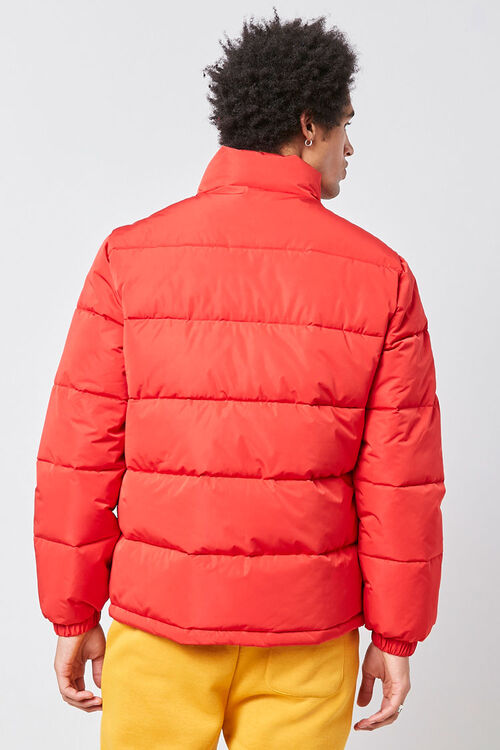 Zip-Up Puffer Jacket, image 2