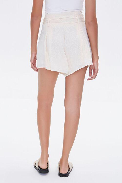 Tortoiseshell Belted Shorts, image 4