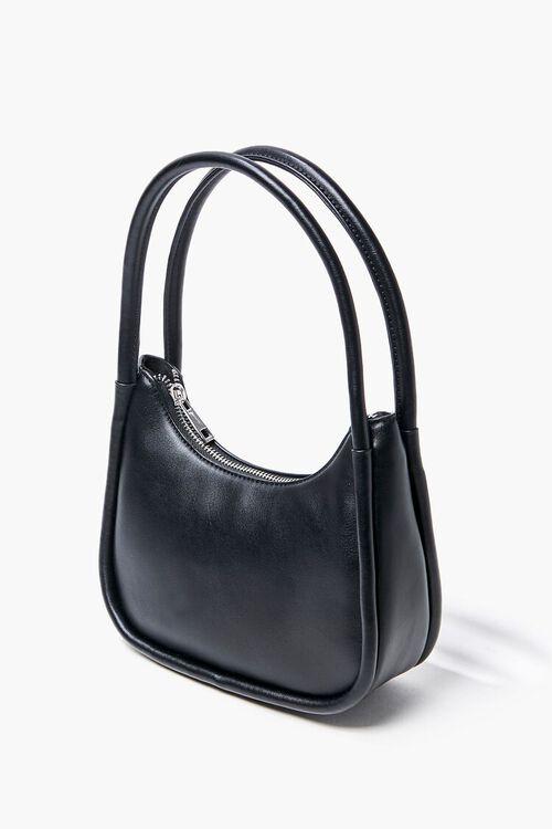 Faux Leather Shoulder Bag, image 3