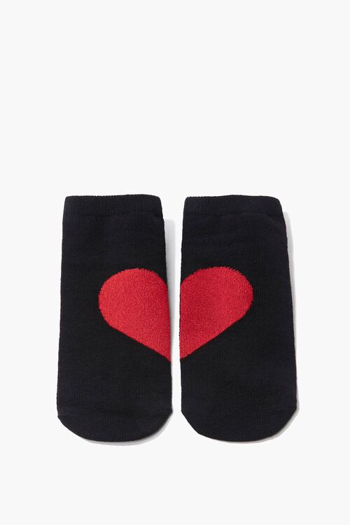 Heart Graphic Ankle Socks, image 2