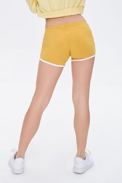 Hot Pink Retro Shorts w//White Trim size Medium /& thigh-high socks