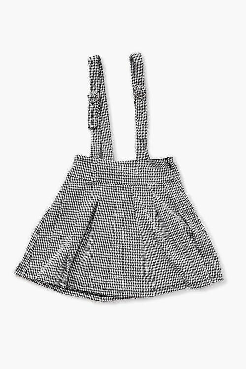 Girls Houndstooth Pinafore Dress (Kids), image 1