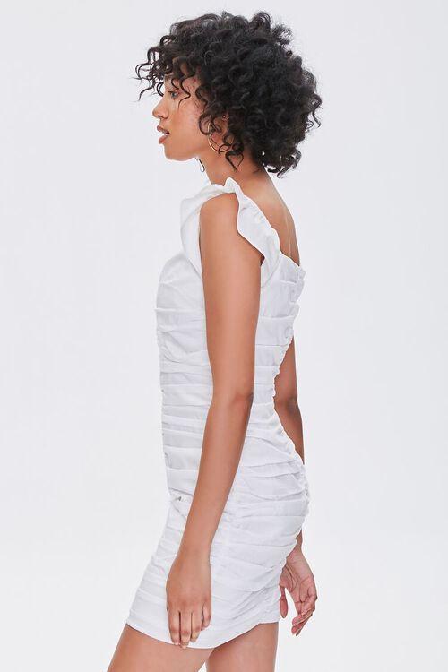 Ruched Cap-Sleeve Sheath Dress, image 2
