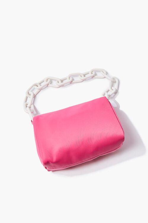 PINK Nylon Shoulder Bag, image 3