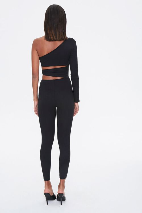 One-Shoulder Cutout Jumpsuit, image 3